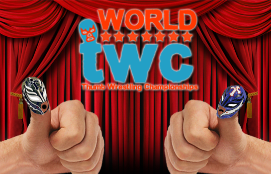 Thumb wrestling federation wallpaper