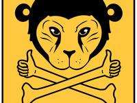 tiger-monkey thumb wrestler