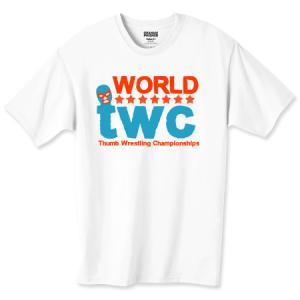 Official World Thumb Wrestling Championships T Shirt