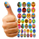 Thumb Wrestling Thumb Decoration Stickers